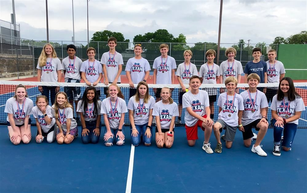 Danforth Junior High Tennis Team