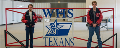 whs flag logo gate
