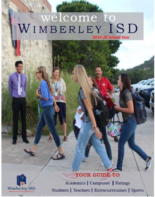 Welcome to Wimberley ISD Cover